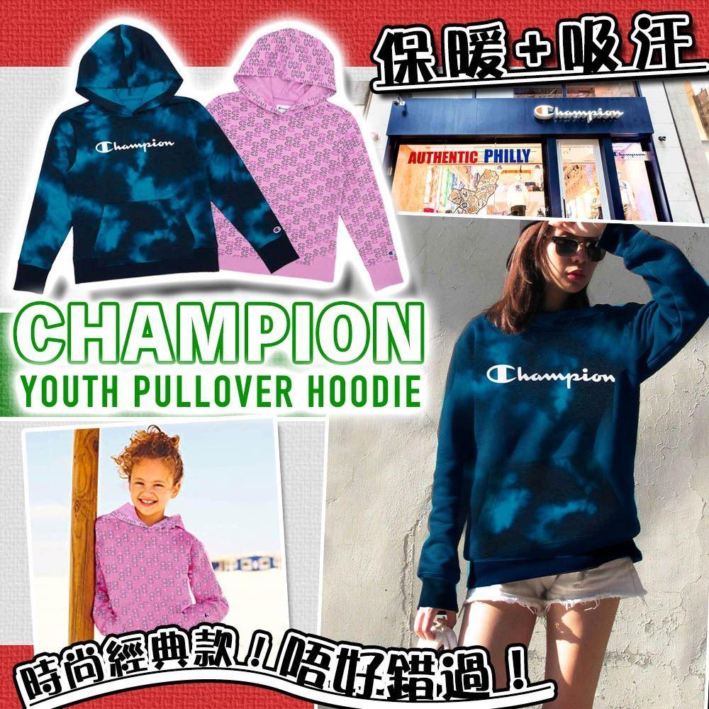 圖片 **貨品已截單**A P4U 3中: Champion Pullover 中童有帽衛衣